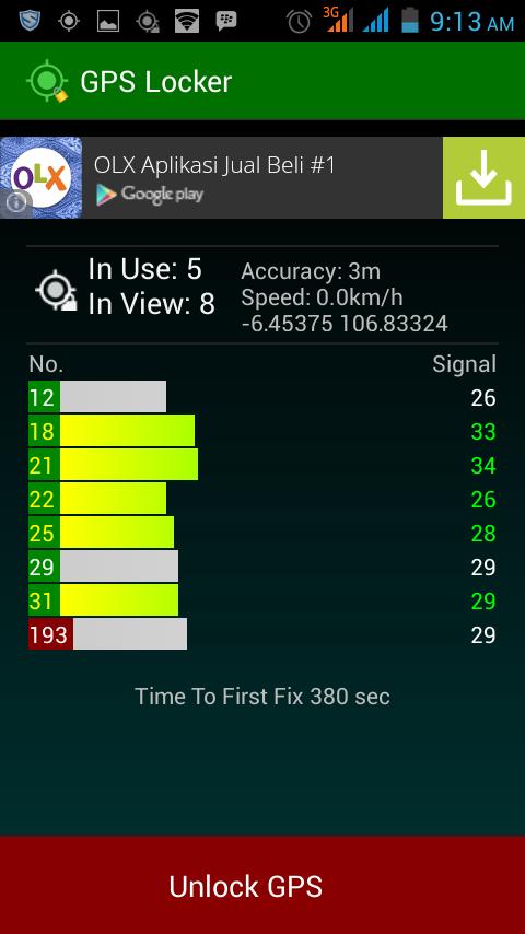 cara mempercepat lock gps di hp android