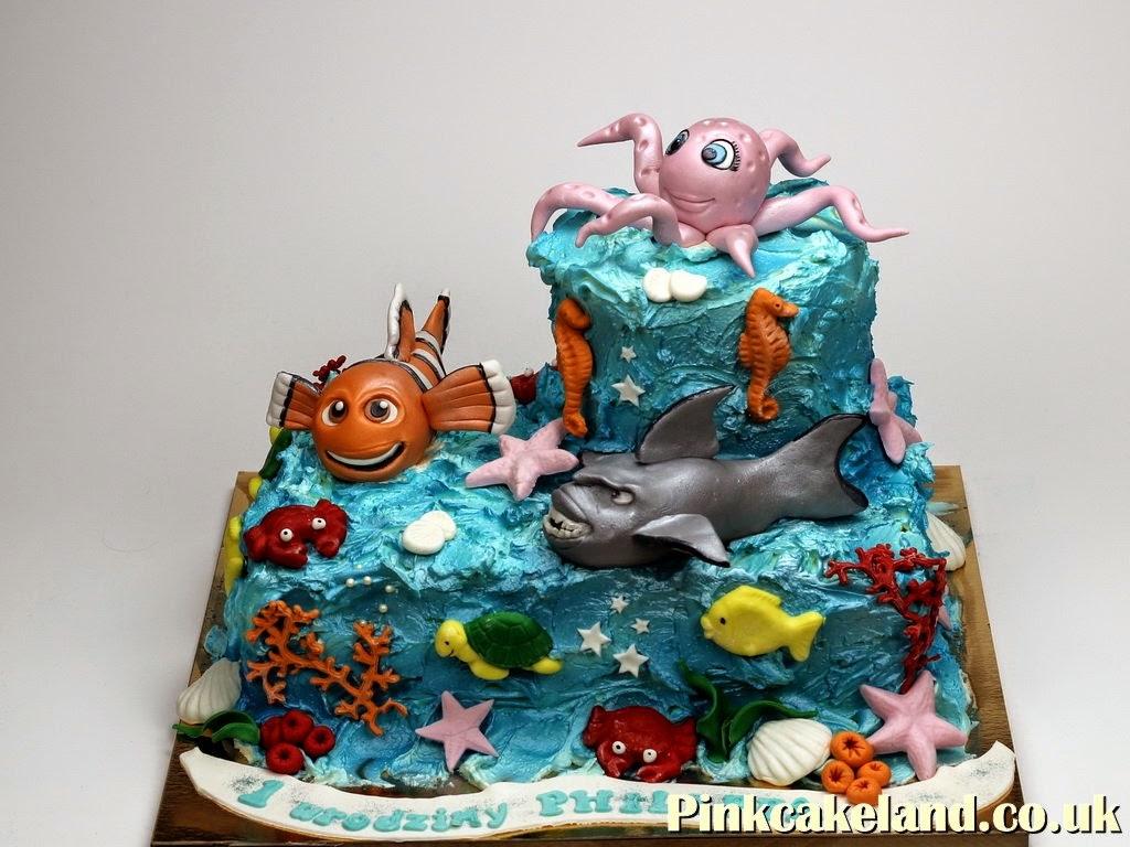 Finding Nemo Birthday Cake, London