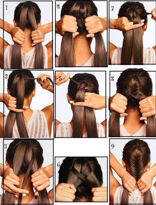 Peinados instant neos peinados f ciles paso a paso para - Peinados de moda faciles de hacer en casa ...
