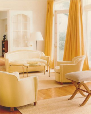 Decor - Soothing Yellow by Interior Designer Stephen Sills