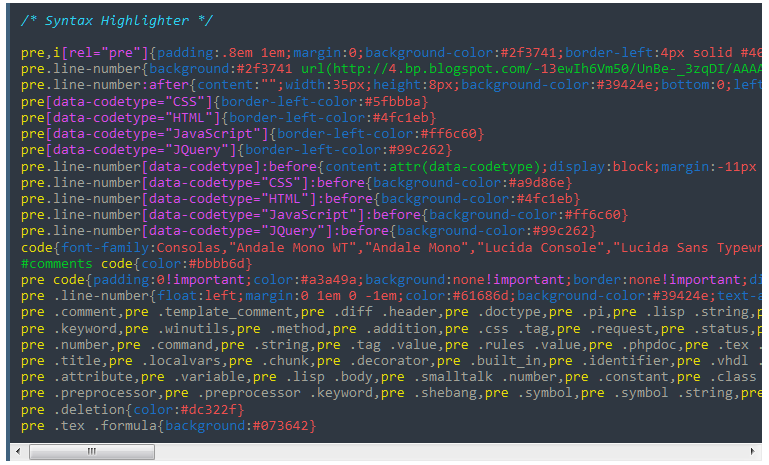 Cara Membuat Syntax Higlighter Elegant di Blog