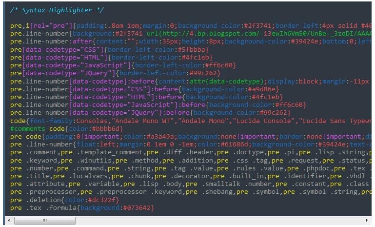 Cara Membuat Syntax Higlighter Elegant di Blog
