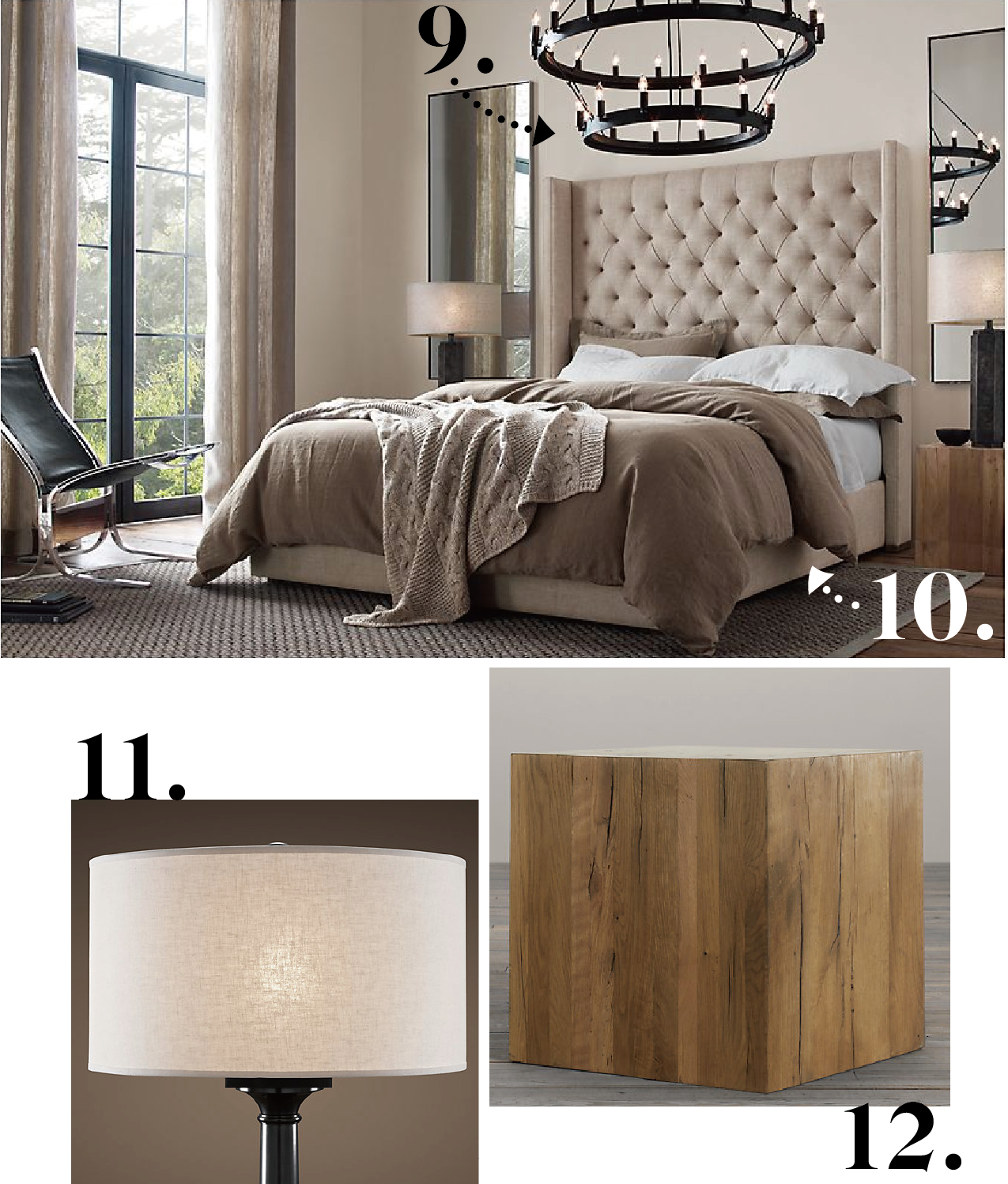 Restoration Hardware Catalogue - Bedroom | Interiors Blog