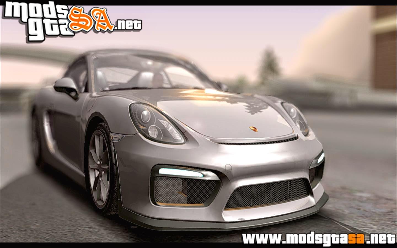 SA - Porsche Cayman GT4 981c 2016