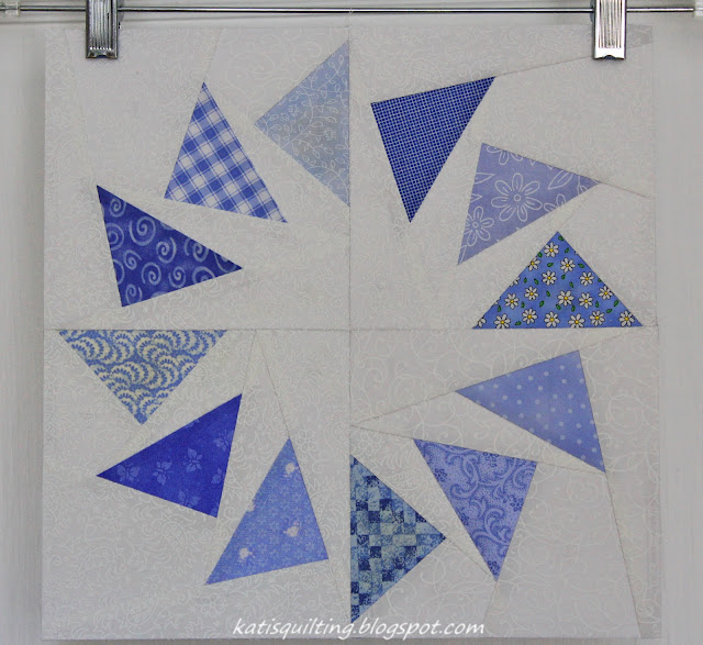 Circle of Geese paper pieced block