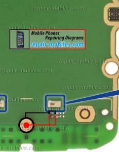 Nokia Asha 305 Mic Path
