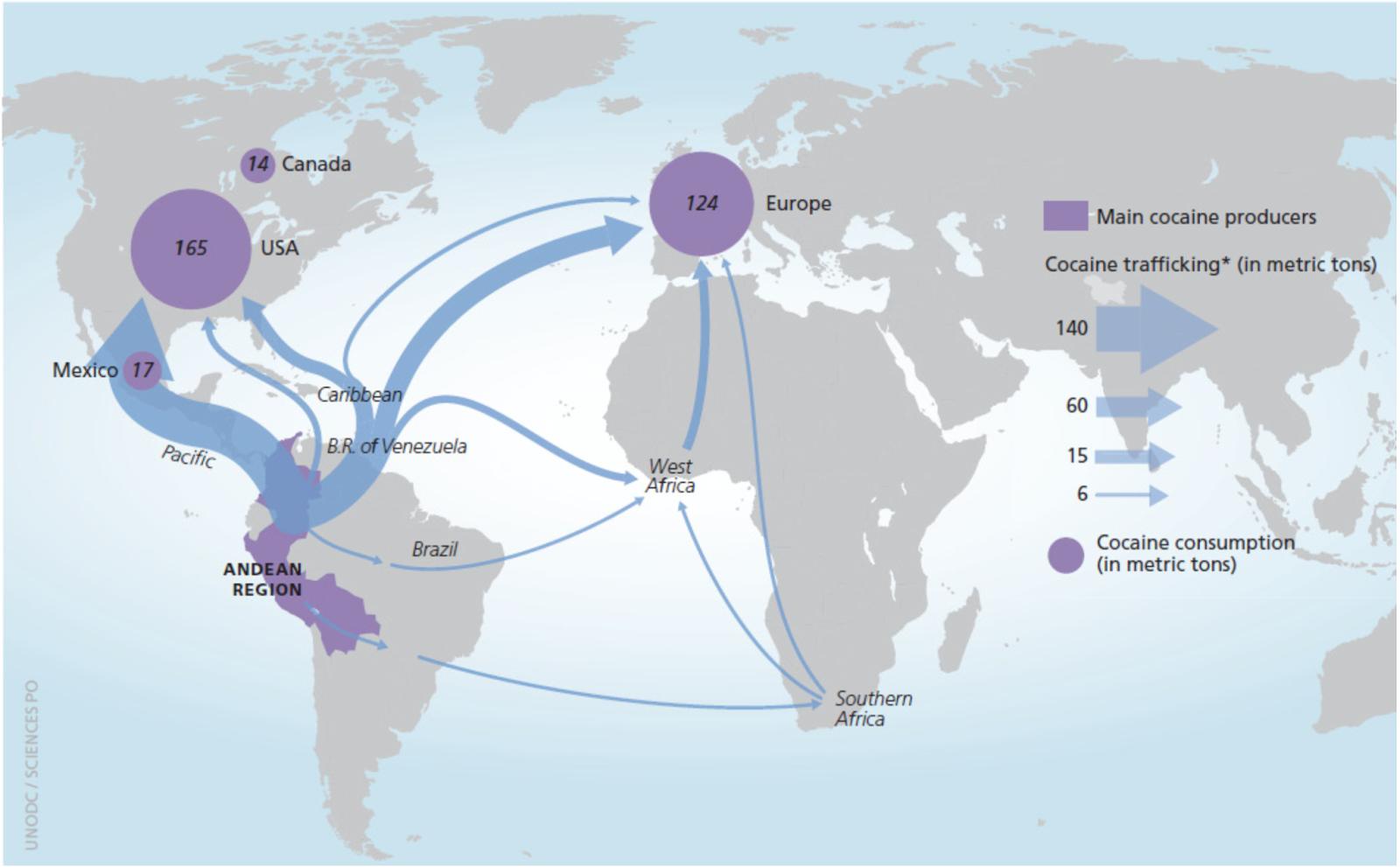 Der Weg von Kok... International Human Trafficking Statistics