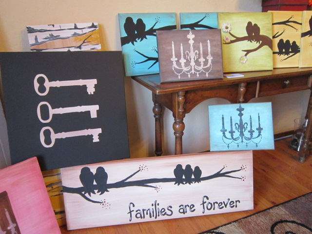 WE DO CANVASES & WOOD SIGNS!!