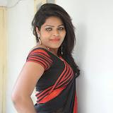 Sitara Hot Photos in Saree at Gundello Guchi Guchi Champake Movie Press Meet 34