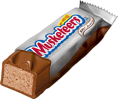 Nate's Nonsense: 3 Musketeers Candy Bar