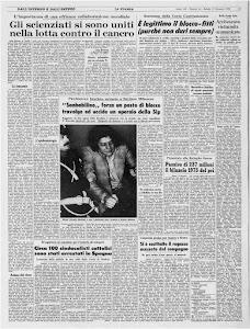 LA STAMPA 17 GENNAIO 1976