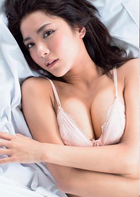 石川 恋 Ren Ishikawa Weekly Playboy 週刊プレイボーイ No 31 2015 Photos 5