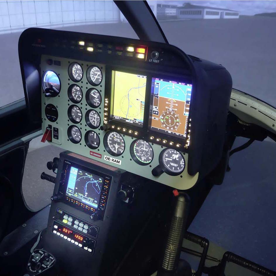 ORIGINAL BELL 206 SIMULATOR