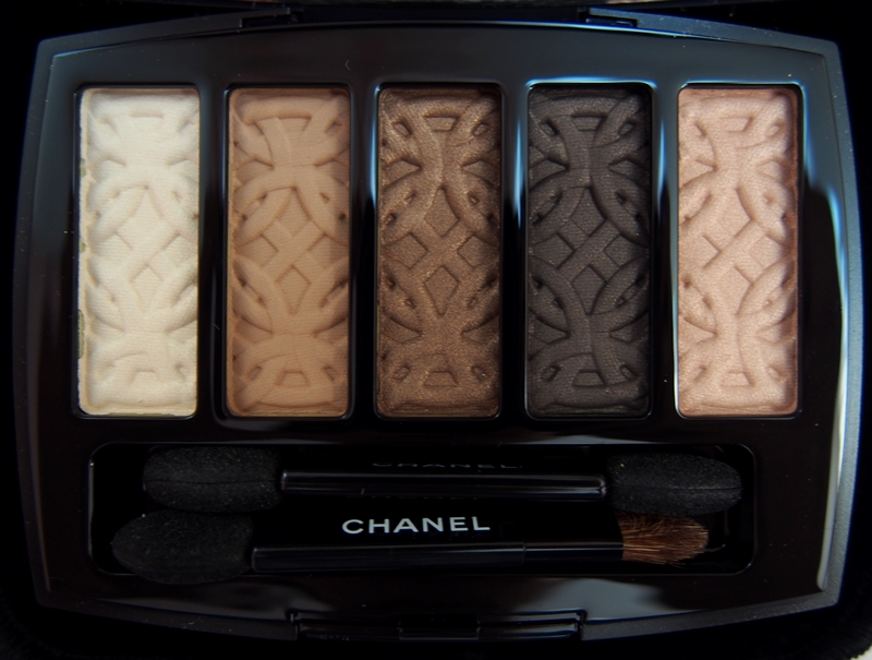 Chanel Fall 2015 Entrelacs Palette closeup