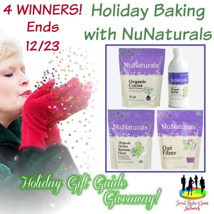 Holiday Baking with NuNaturals