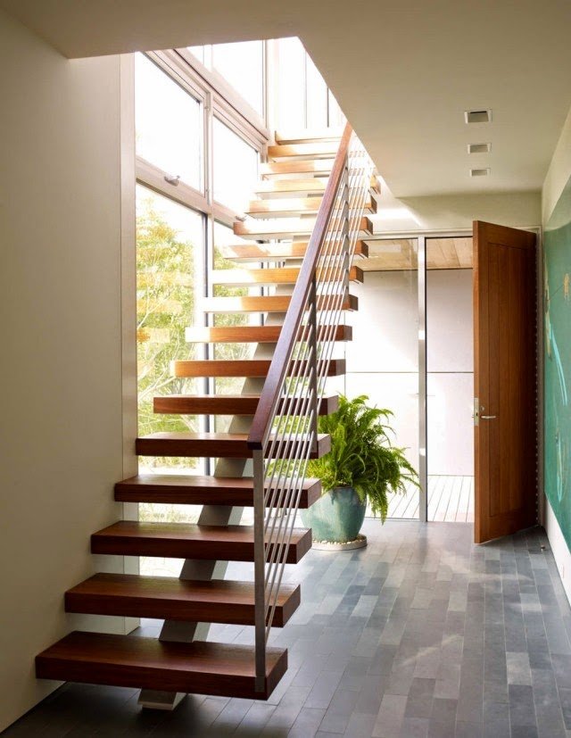 Latest modern stairs designs catalogue transform your for Stair designs interior