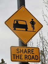 ...Share the road...