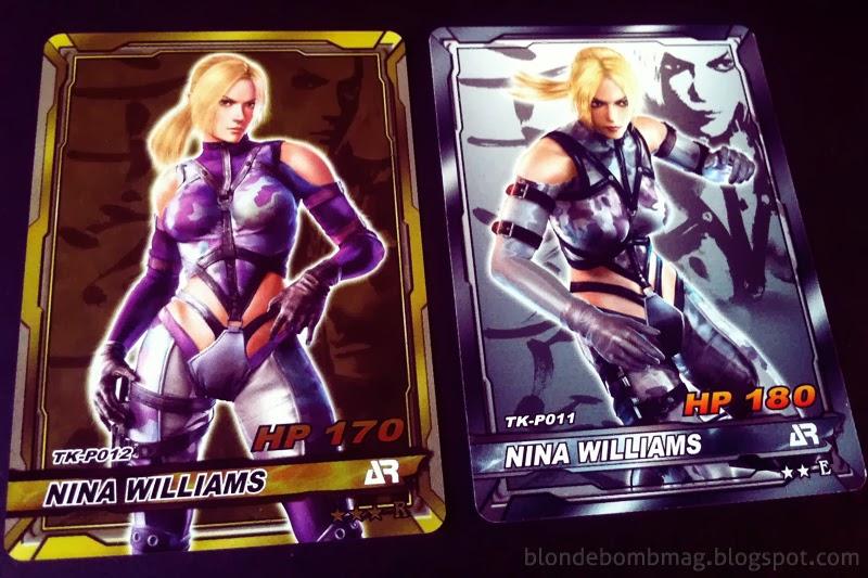 Tekken Card Nina Physical Cards AR