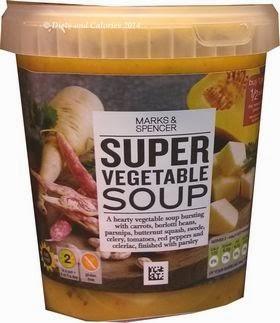 Marks & Spencer Super Vegetable Soup