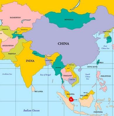 Singapur Nerde ve Singapur Neresi