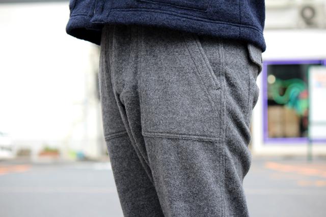 """Nisus Hotel """"Wool Baker Pants"""" size L 22,680yen"""