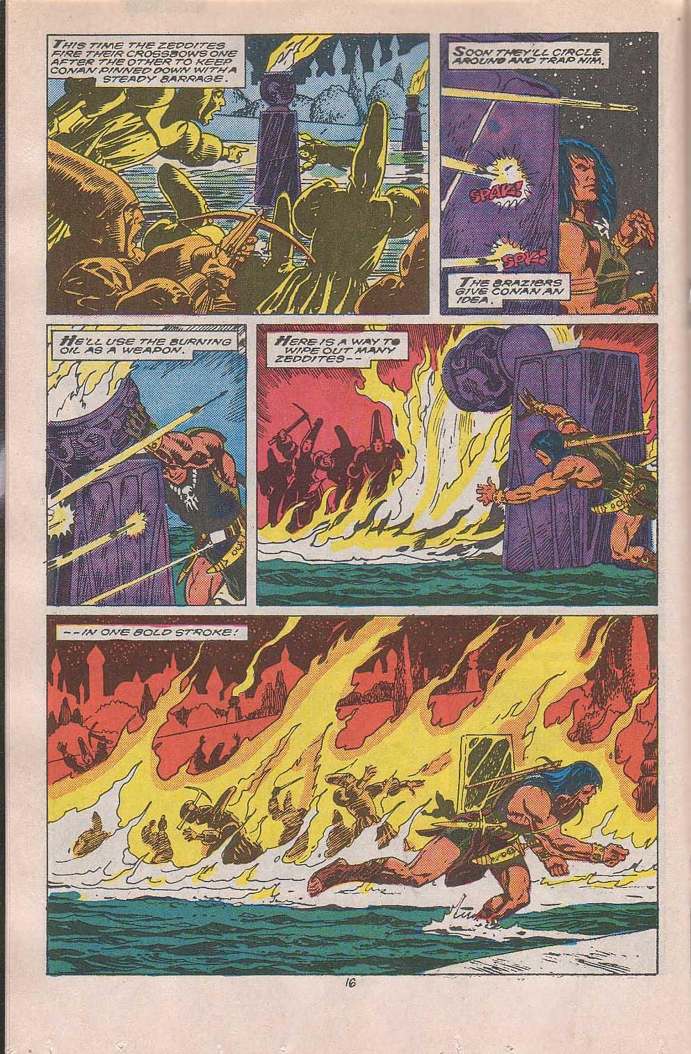 Conan the Barbarian (1970) Issue #216 #228 - English 13