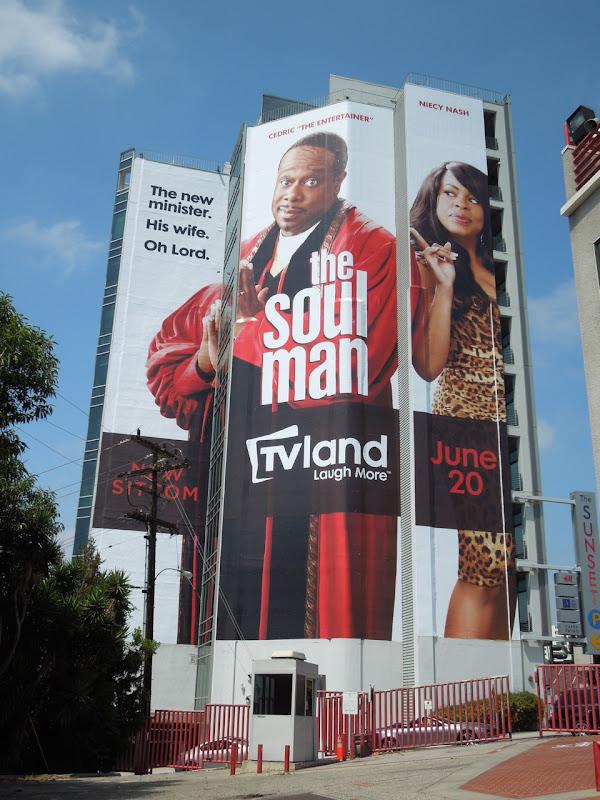 Soul Man giant billboard