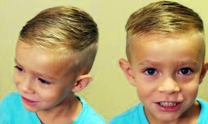 Gaya Rambut Anak LakiLaki Usia Tahun Terbaru - Gaya rambut anak laki laki umur 1 tahun