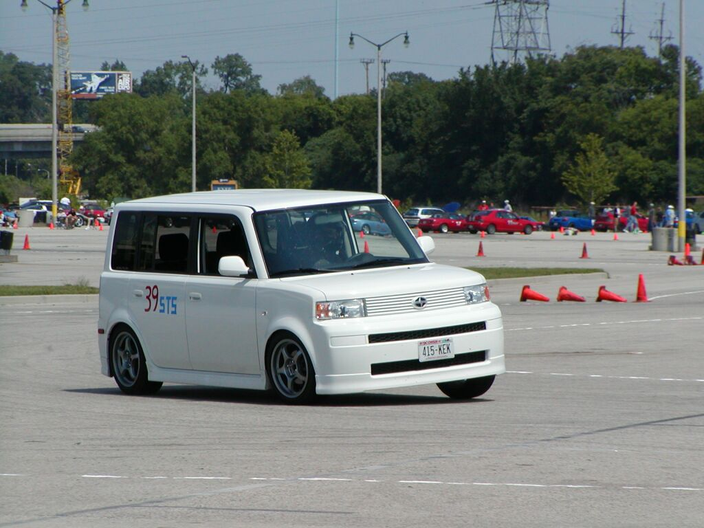 My 2005 Scion XB Autocrossing