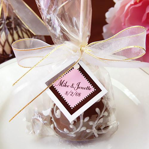 Unxia Mini Wedding Brownie Favor Pops