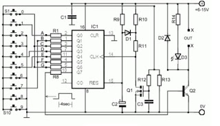Circuit Electronic Security Door