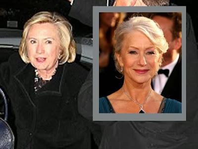 funny Hillary Clinton Helen Mirren