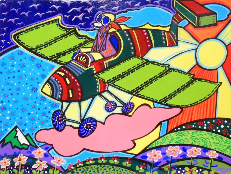 Cuadros modernos pinturas y dibujos pinturas decorativas - Cuadros abstractos para ninos ...