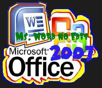 Gambar Cover Cara Memberi Proteksi Atau Password Ms. Word 2007