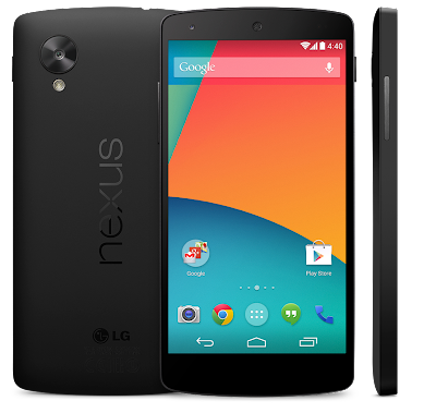 Google New Nexus 5 Review with Android Kitkat 4.4