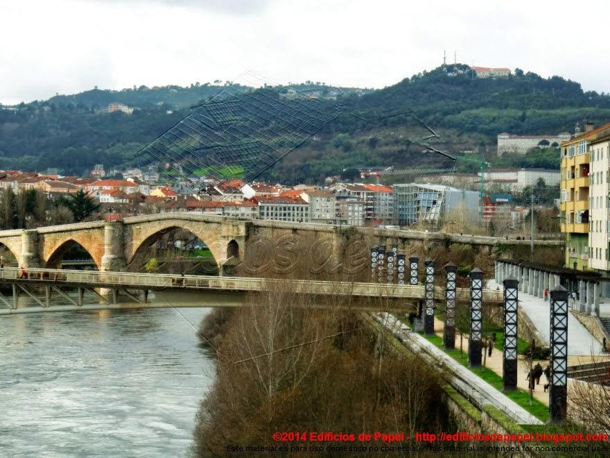Vistas del Puente Romano de Ourense
