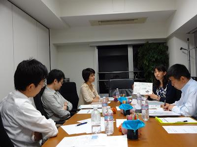 アクションラーニング「質問会議」セッションの様子の写真