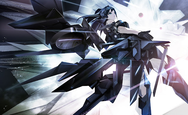 anime girl black armor original tokiya hd wallpaper desktop pc wallpaper a46