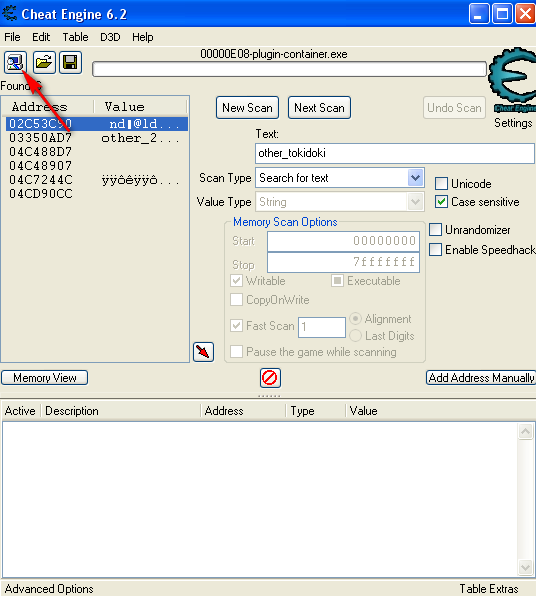 Cheat Engine 61 Portable download SourceForgenet