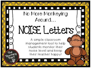 https://www.teacherspayteachers.com/Product/No-More-Monkeying-Around-NOISE-Letters-2102096