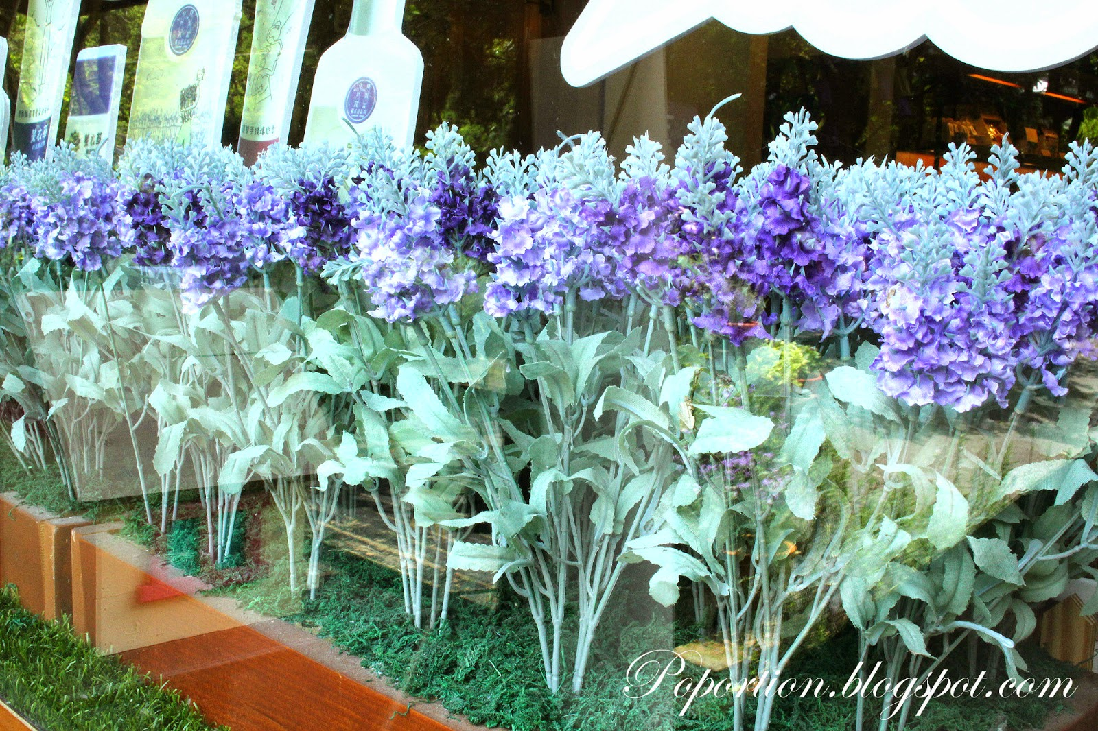 fake lavender flowers