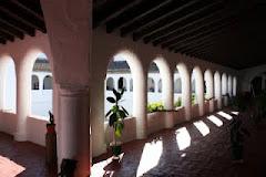 Convento de Santa Clara, claustro.