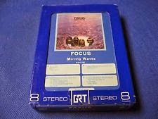 Focus Moving Waves album in 8-track tape 1971