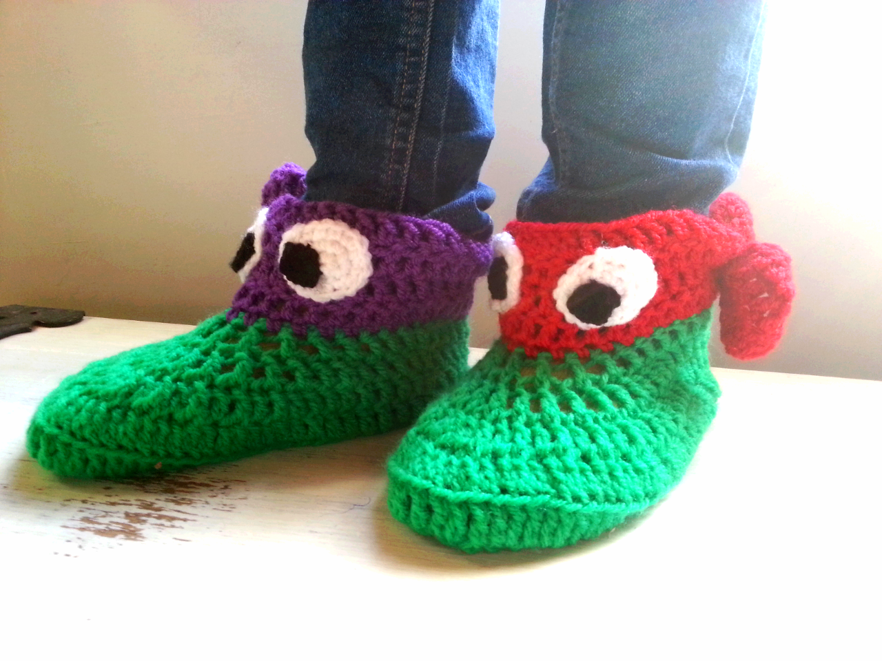 Ninja Turtle slippers