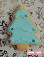 Galleta Arbol de Navidad