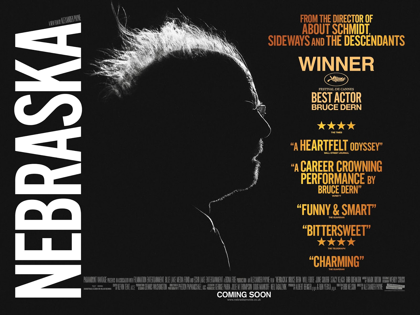Filmes, seriados, documentários e afins - Página 3 Nebraska-Poster-Quad