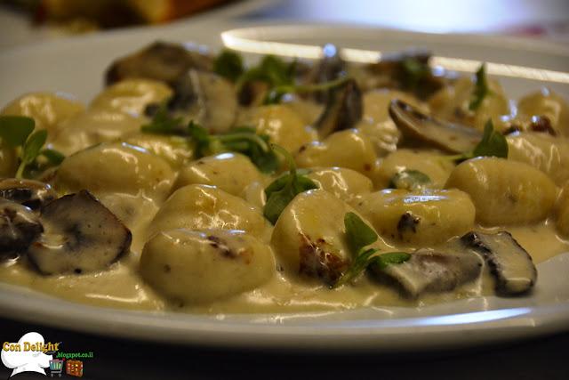 gnocchi mushroom and cream