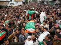 Pengkebumian keluarga AsSyahid Nizar Rayyan