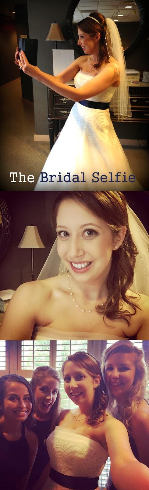 bridal selfies