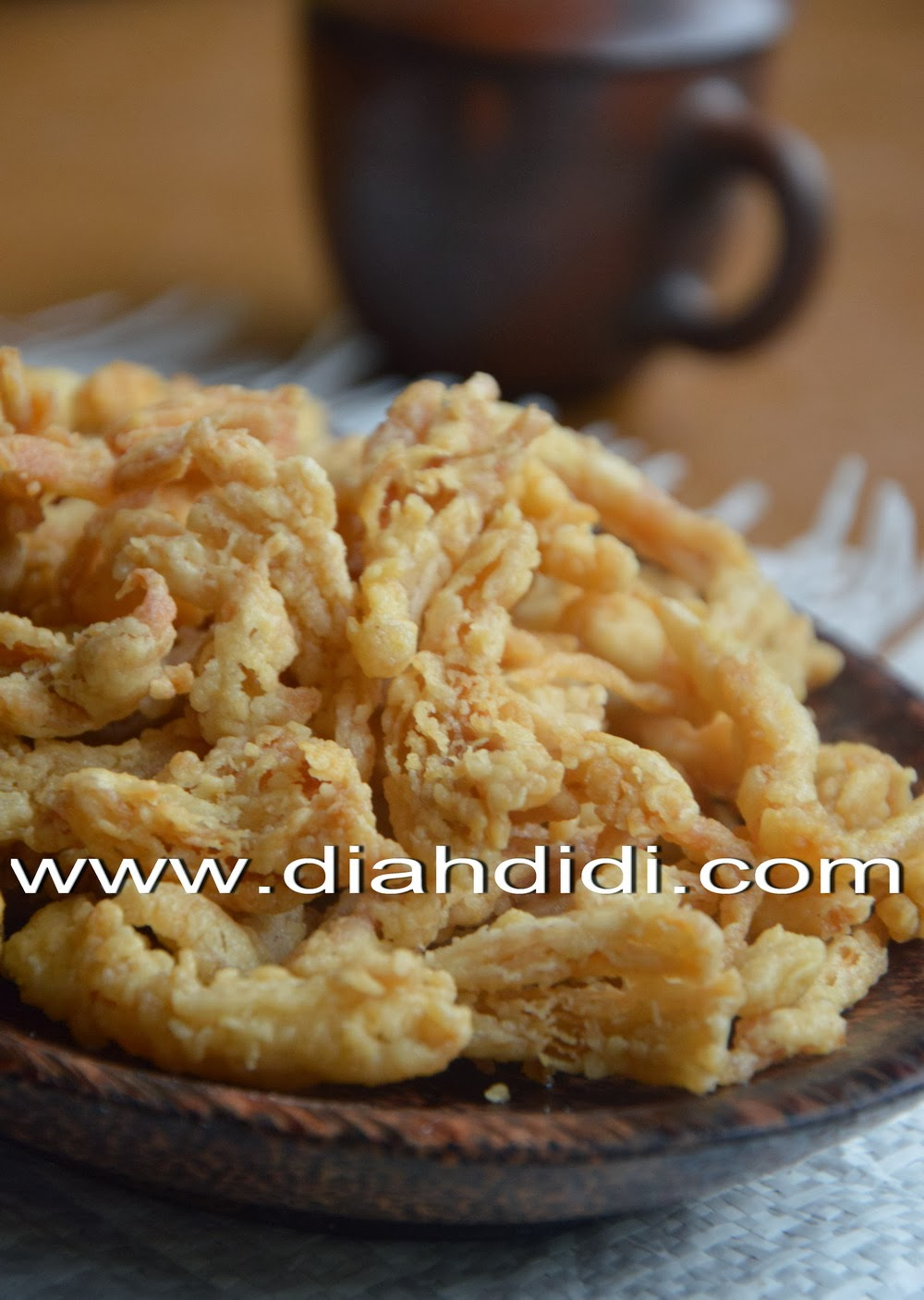 Diah Didis Kitchen Jamur Krispi Praktis